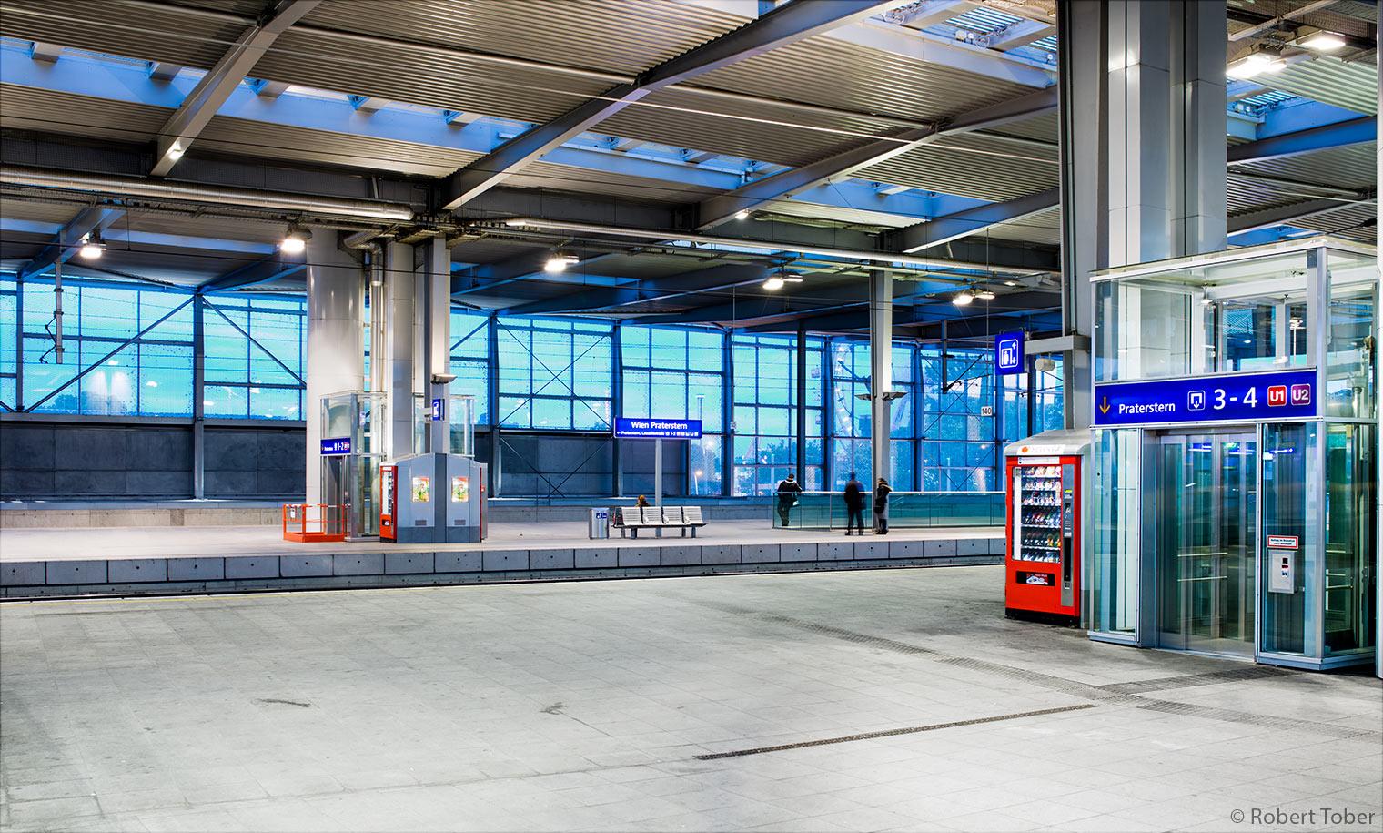 ÖBB Bahnhof Wien Nord · © Robert Tober · www.toro.cc