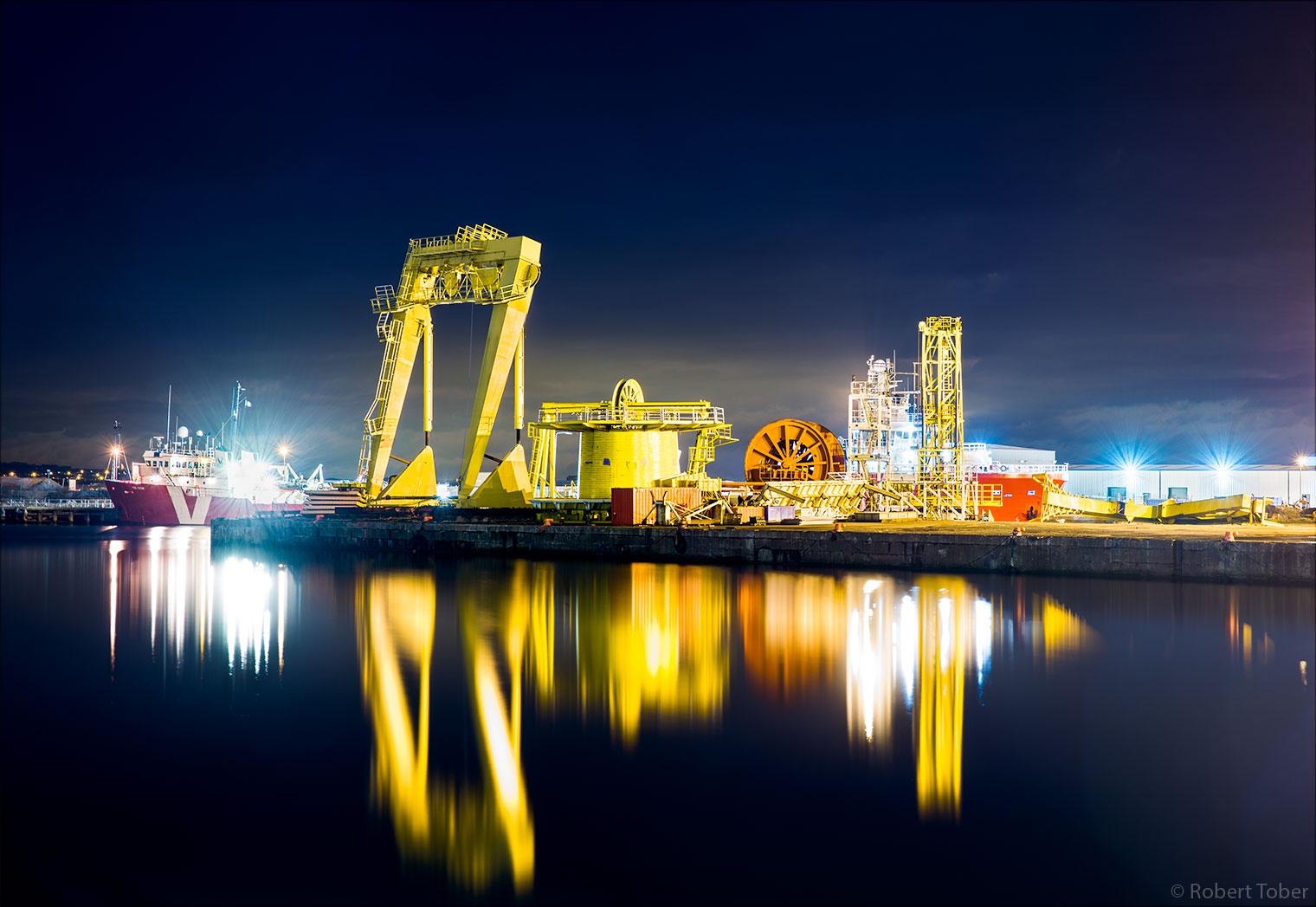 Hafen Edinburgh, Schottland · © Robert Tober · www.toro.cc