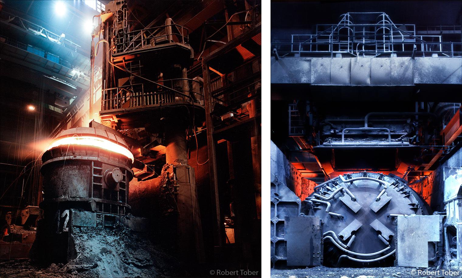 Stahlfabrik Dunaferr Dunai Vasmü in Dunaújváros · © Robert Tober · www.toro.cc